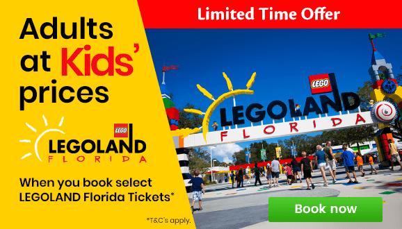 Adults at Kids Prices at LEGOLAND® Florida